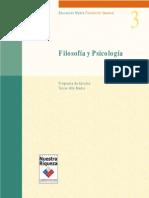 3° Medio Filosofía y Psicología
