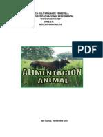 Las Necesidades Nutritivas de Los Animales