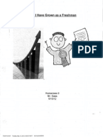 example portfolio - model essay