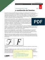 Adobe Acrobat Pro _ Incrustación y Sustitución de Fuentes