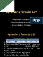 LEV en Neonatos