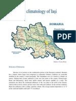 The Climatology of Iasi, Romania