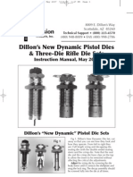 Dillon RL550B Manual May 2007 | Cartridge (Firearms) | Screw