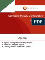 WEBINAR2012 03 Optimizing MySQL Configuration