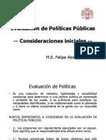 1- Evaluación de Políticas Públicas INTRODUCCION