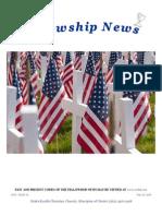May 20, 2014 Fellowship News