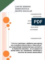 Plan de Municipio Escolar 2014