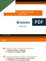 16 Integrales Dobles Presentacion