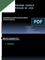 Diapositivas Exposicion Inspeccion de Obras