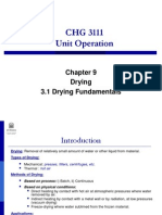3.1 Drying Fundamentals(2)