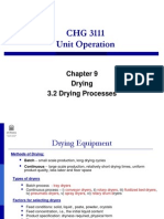3.2 Drying Processes