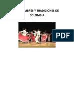 Costumbres y Tradiciones de Colombia