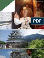 El Castillo Gujō Hachiman y el Castillo Sunomata en Gifu Japón por Francisco Barberá