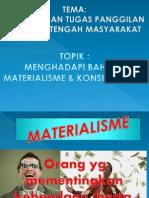 Pt 11 Materialisme & Konsumerisme