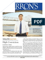 High Conviction Barrons Talks With RiverParkWedgewood Fund Portfolio Manager David Rolfe