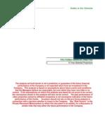 Proforma Financial Analysis