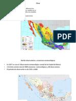 Atlas climáticos de méxico