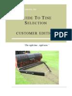 2009 Customer Tine Catalog