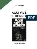 Aqui Vive El Horror