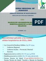 Manejo Residuos Hospitalarios - Diresa Setiembre Diaspositivas 2013