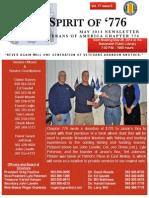 Vietnam Veterans of America Chapter 776 May 2014 Newsletter
