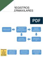REGISTROS INTERMAXILARES