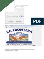 Manual La Frontera