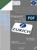 Rapport de Stage Zurich Assurances