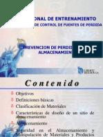 Prevención de Perdidas en El Almacenamiento Nov. 21-2001