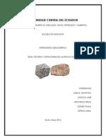Texturas y Estructuras de Las Rocas Igneas