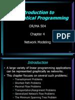 Ch 4 Network Models