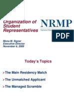 nrmp   Residency (Medicine)   United States Medical