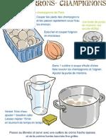 Soupe Marrons Champignons