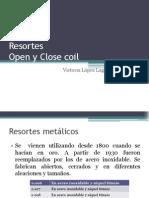 Resortes de Níquel (Open y Close Coil