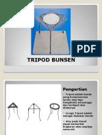 Tripod Bunsen