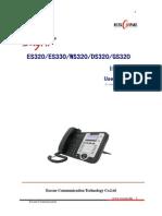 User Manua IpPhone Escene ES-WS-DS-GS300 Series
