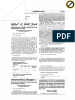 D.S. Nº 003-2014-MINEDU, Incorporan Disposición al Reglamento de la Ley de Reforma Magisterial