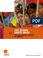 ITUC Global Rights Index - The World´s worst countries for workers