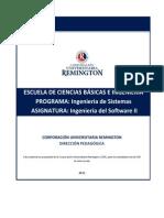 MÓDULO Ingenieria_del-Software_II. Ing. Sistemas