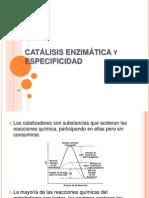 Catálisis Enzimática y Especificidad