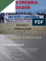 1. Mengenal Komponen Elektronika Pasif
