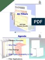 ASHRAE 52 Air Filters