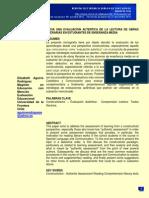 Monografia de Exalumna Sobre Evaluacion Autentica