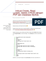 Blogahmaddwi Wordpress Com 2013-10-09 Membuat Create Read Update Delete Crud Dengan Php Dan Database Mysql