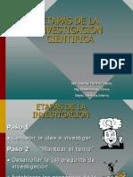 Etapas de La Ivestigacion