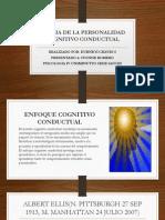 Teoria de La Personalidad Cognitivo Conductual
