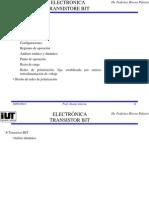 Tema 6_Transistor BJT Análisis Estático