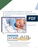 Estrategias Para Melhorar o Sono de Criancas Com Transtornos Do Espectro Do Autismo