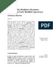 "Giuliana Martini, ""The meditative dynamics of the Early Buddhist appamāṇas"", Canadian Journal of Buddhist Studies 7 (2011)"