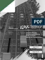 Mixer - Yamaha Emx5016cf Manual